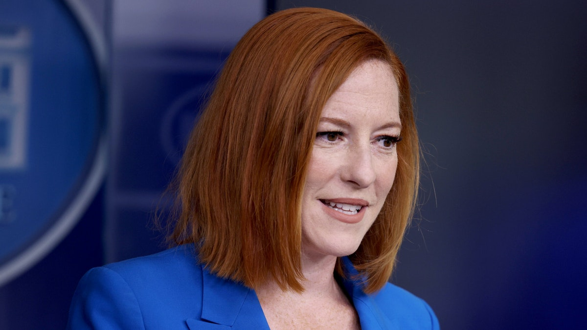 Psaki On Why Biden Previously Said That The Vaccinated Don't Need Masks: 'A Different Strain Of Virus'