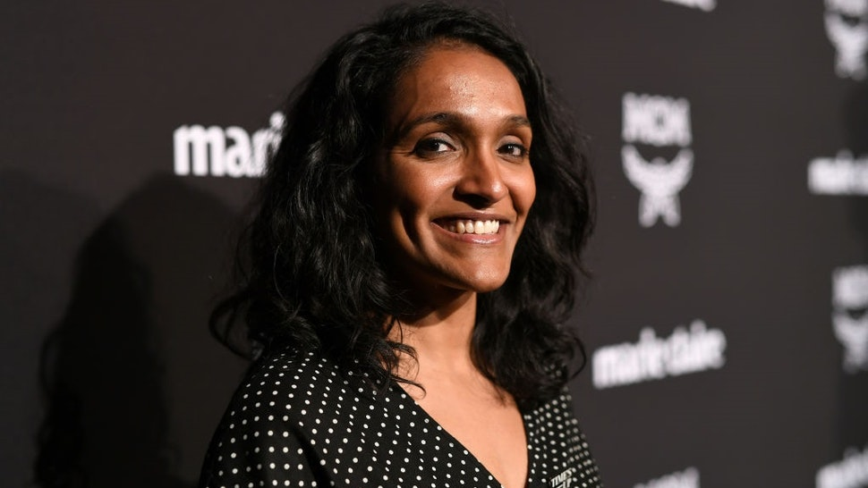 LOS ANGELES, CA - MARCH 12: Nithya Raman is seen as Marie Claire honors Hollywood's Change Makers on March 12, 2019 in Los Angeles, California.
