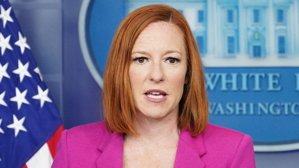White House Press Secretary Jen Psaki speaks during the daily briefing in the Brady Briefing Room of the White House in Washington, DC on June 22, 2021.