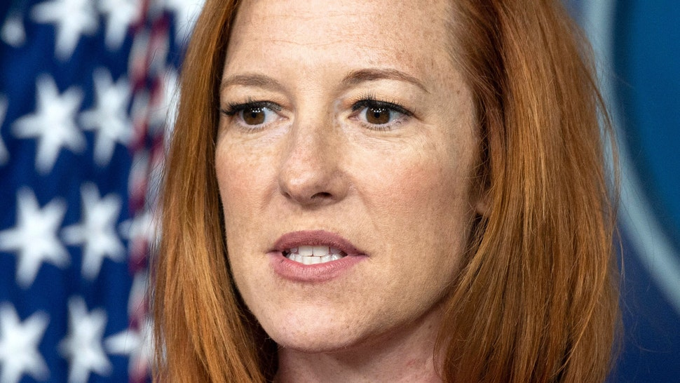 White House Press Secretary Jen Psaki speaks during the daily press briefing at the White house in Washington, DC, on July 19, 2021.