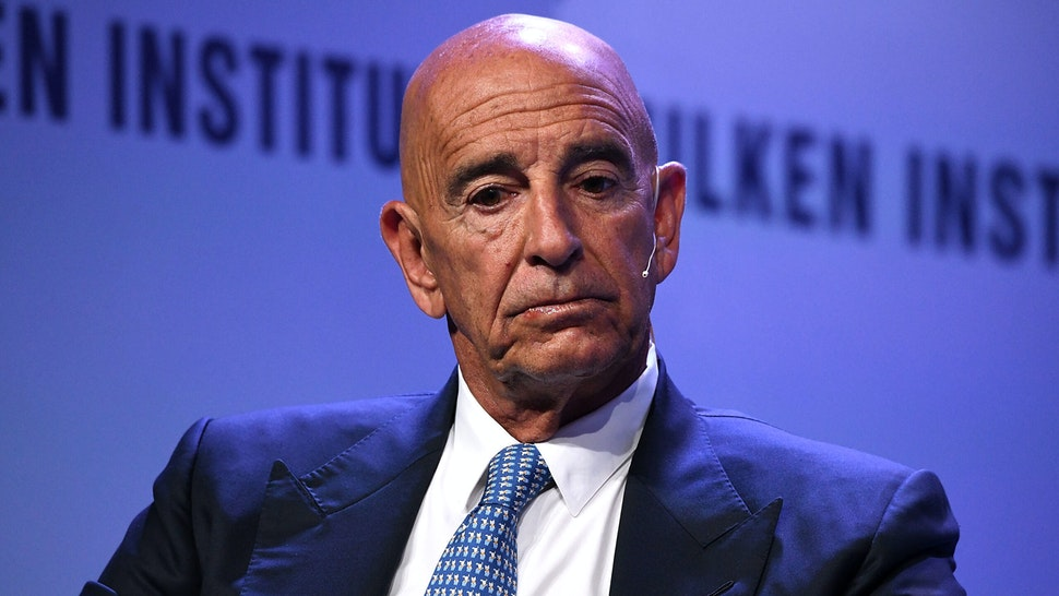 BEVERLY HILLS, CA - APRIL 29: Thomas Barrack, Executive Chairman and CEO, Colony Capital, participates in a panel discussion during the annual Milken Institute Global Conference at The Beverly Hilton Hotel on April 28, 2019 in Beverly Hills, California.