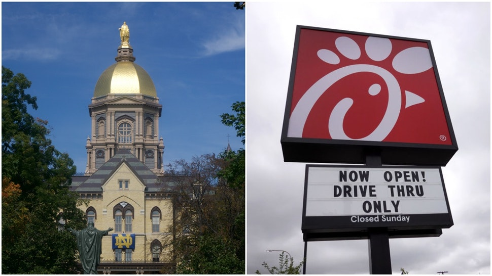 Notre Dame and Chick-fil-A