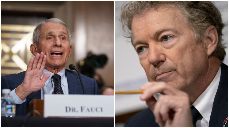 Anthony Fauci and Rand Paul