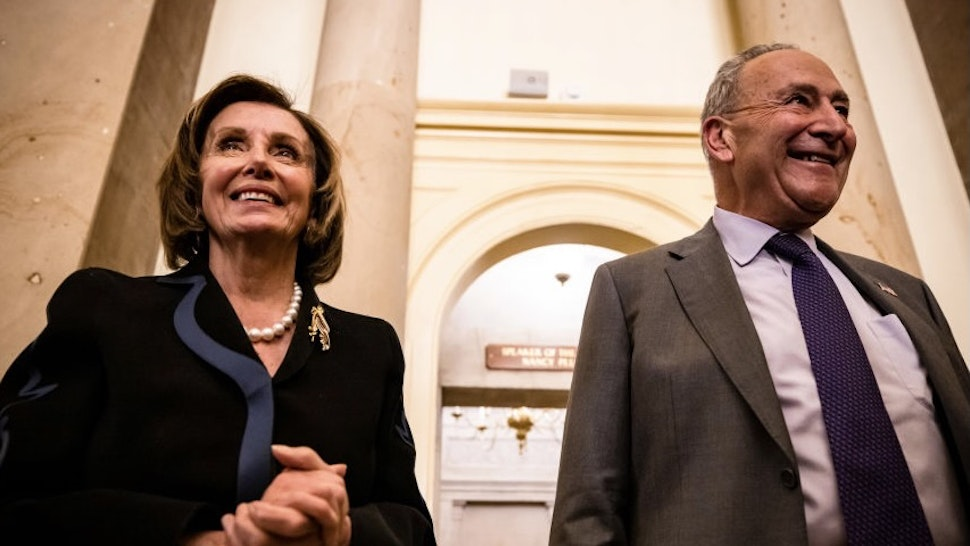 Schumer, Pelosi Bash Republicans For Saying They Won't Vote To Raise Debt Ceiling