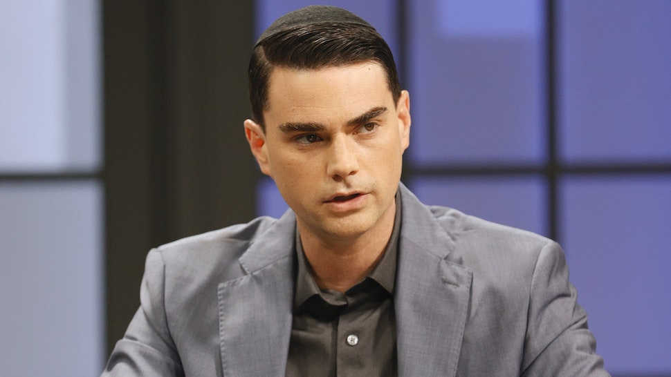 """NASHVILLE, TENNESSEE - APRIL 28: Ben Shapiro is seen on the set of """"Candace"""" on April 28, 2021 in Nashville, Tennessee. The show will air on Friday, April 30, 2021. (Photo by Jason Kempin/Getty Images)"""