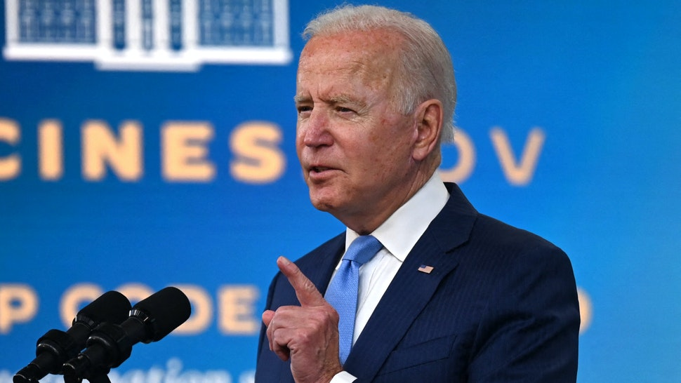 WATCH: Biden Bolts From Event As Reporters Press Him On Afghanistan, Refuses To Answer Questions