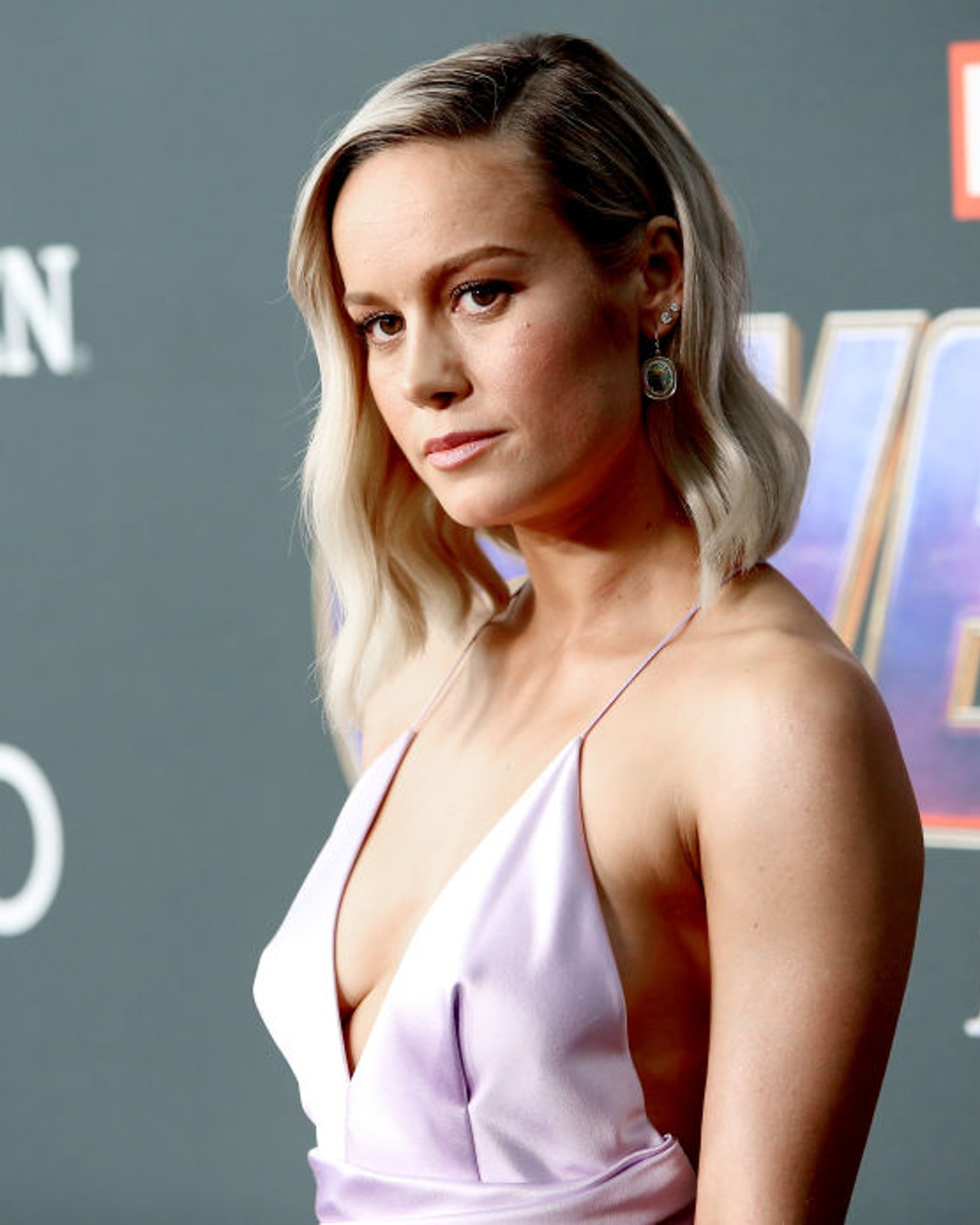 """LOS ANGELES, CA - APRIL 22: Brie Larson attends the Los Angeles World Premiere of Marvel Studios' """"Avengers: Endgame"""" at the Los Angeles Convention Center on April 23, 2019 in Los Angeles, California. (Photo by Jesse Grant/Getty Images for Disney)"""