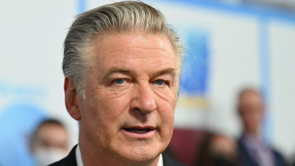 """US actor Alec Baldwin attends DreamWorks Animation's """"The Boss Baby: Family Business"""" premiere at SVA Theatre on June 22, 2021 in New York City."""