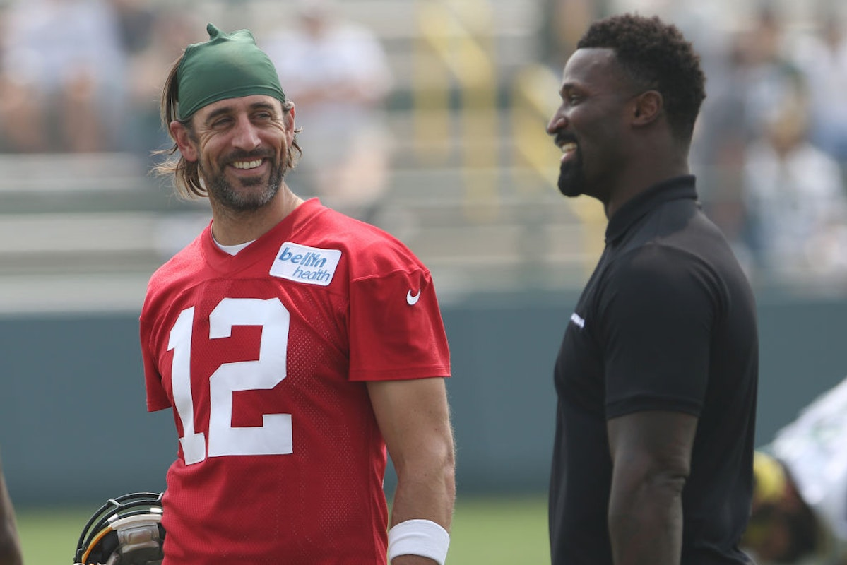 'A Work In Progress,' Aaron Rodgers Says On Relationship With Packers GM