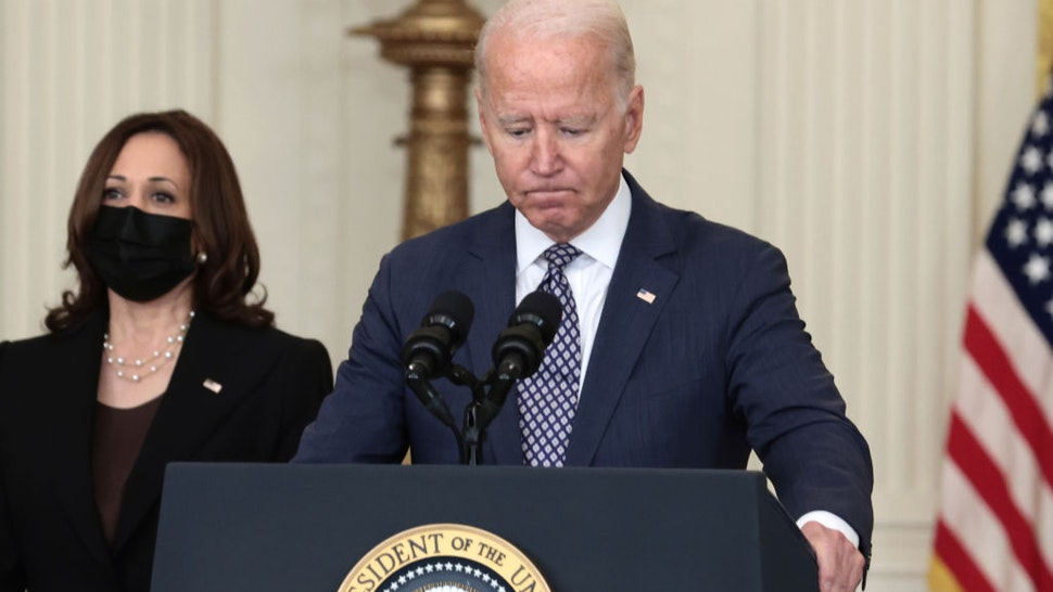 Biden Defends Handling Of Afghan Withdrawal In Strained Speech: 'Plenty Of Time To Criticize' When Mission Is Over