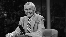 THE TONIGHT SHOW STARRING JOHNNY CARSON -- Air Date 07/28/1982 -- Pictured: Host Johnny Carson -- Photo by: Gene Arias/NBCU Photo Bank