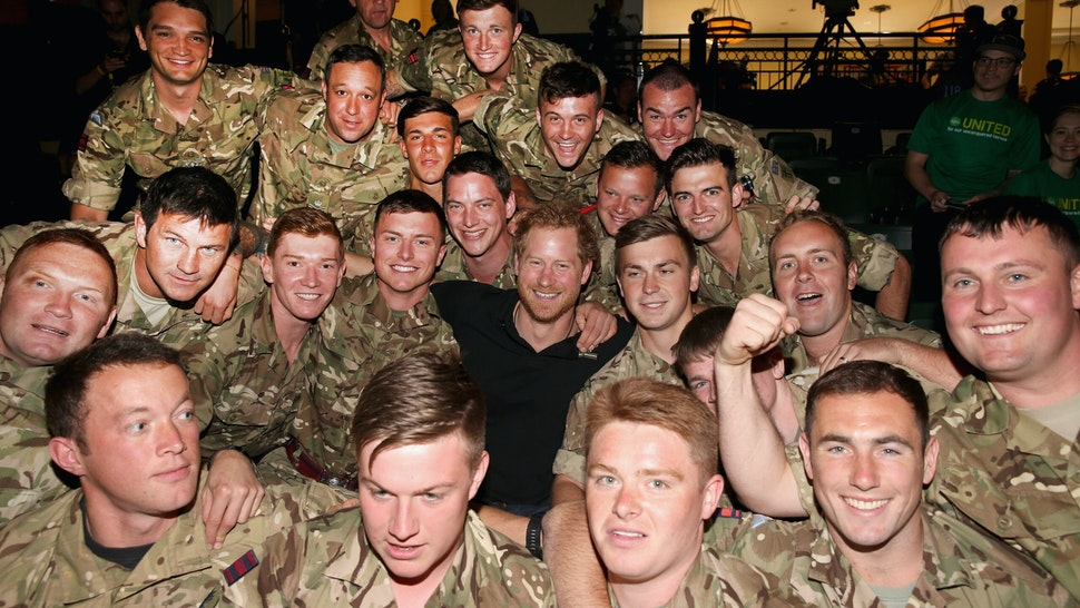 Prince Harry, Afghan War Veteran, Issues Statements On Taliban Takeover Of Afghanistan