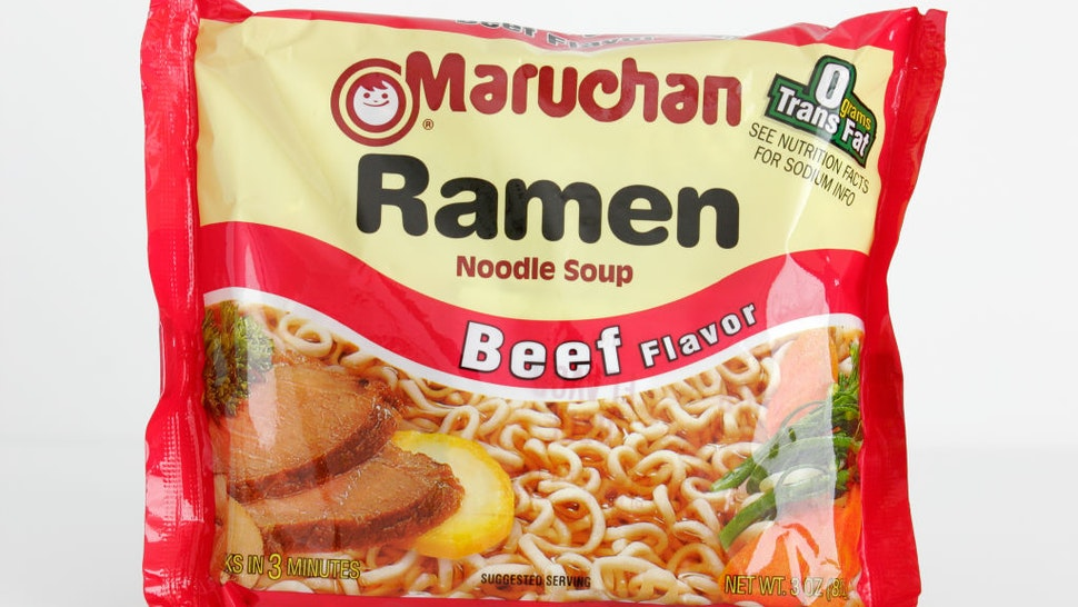 Ramen Noodle Soup, beef flavor. (Photo by: Jeffrey Greenberg/Universal Images Group via Getty Images)