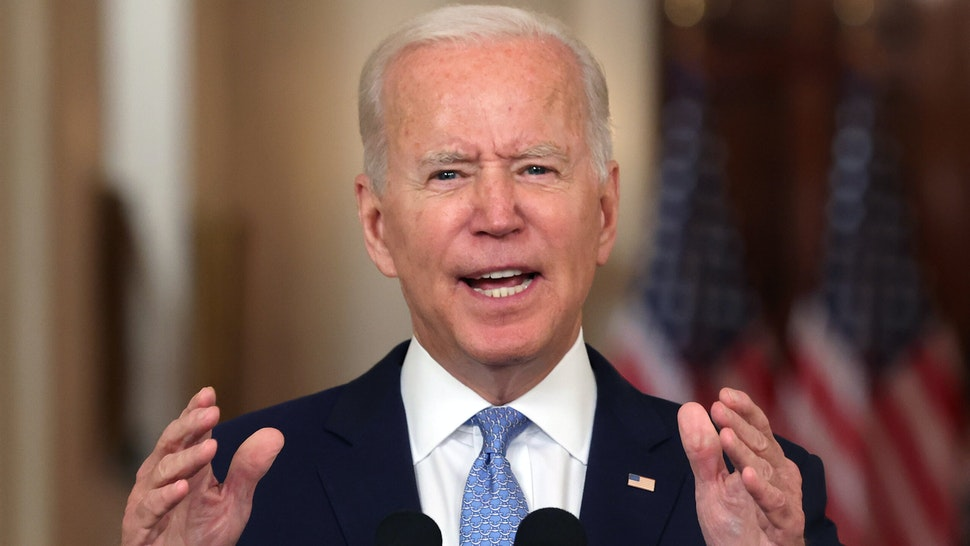 Biden Claims He Takes Responsibility For Afghanistan While Blaming Trump, Afghans, Trapped Americans