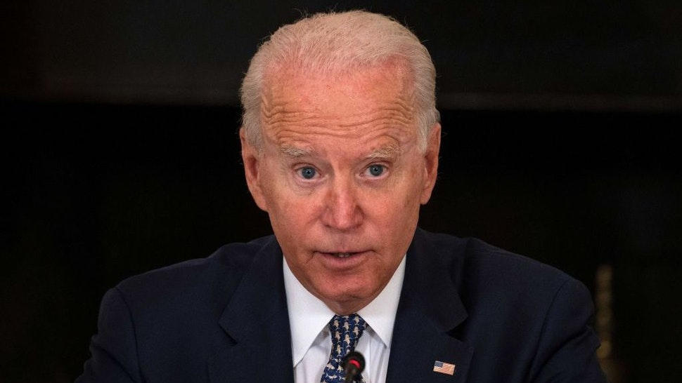 Joe Biden Hammered For 'Hiding' At Camp David While Afghanistan Collapses