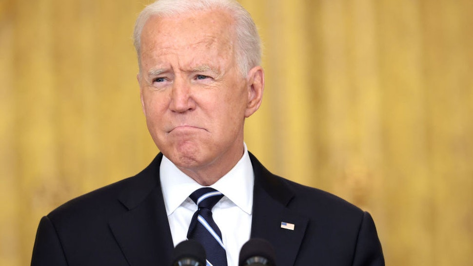 EXCLUSIVE: Biden's Job Approval Tumbles Below 50% After Afghanistan Pullout