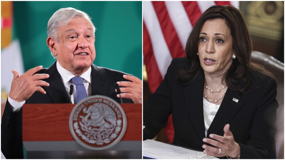— NEWS — Mexican President: I Discussed 'Complete Opening' Of Border With Kamala