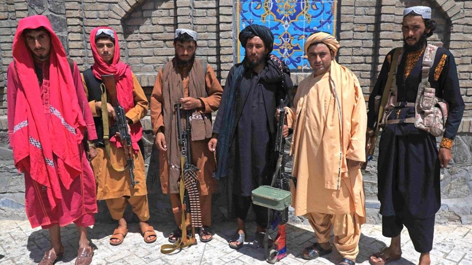 Taliban Seizes Key City, Leaving Kabul 'Effectively Surrounded'