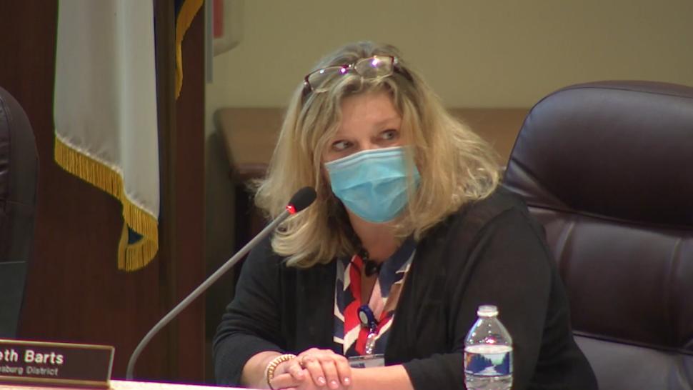 Loudoun County school board member Beth Barts