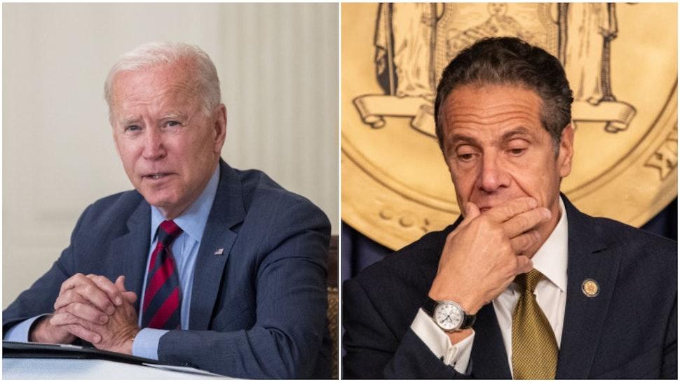 Biden and Cuomo