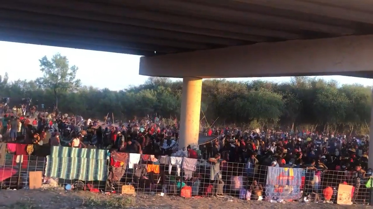 WATCH: Ted Cruz Releases Close Up Video Footage Of 10,000+ 'Illegal Aliens' Under Overpass