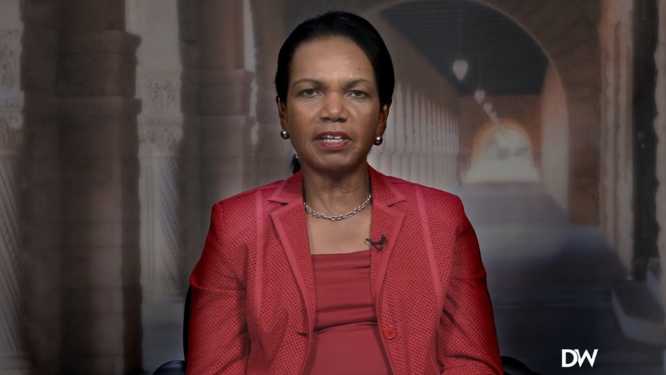 Condi Rice.