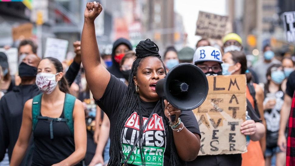 New York Black Lives Matter Leader Promises National 'Uprising' Over 'Racist' Vaccine Mandates
