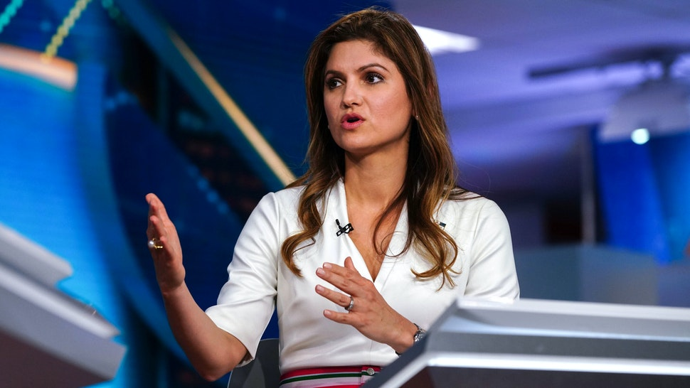 Erika Mouynes, Panama's foreign affairs minister, speaks during a Bloomberg Television interview in New York, U.S., on Wednesday, June 2, 2021. Panama is struggling to cope with a five-fold increase in migrants who trek for days through its dense southern jungle in the hope of reaching the U.S., according to Mouynes.