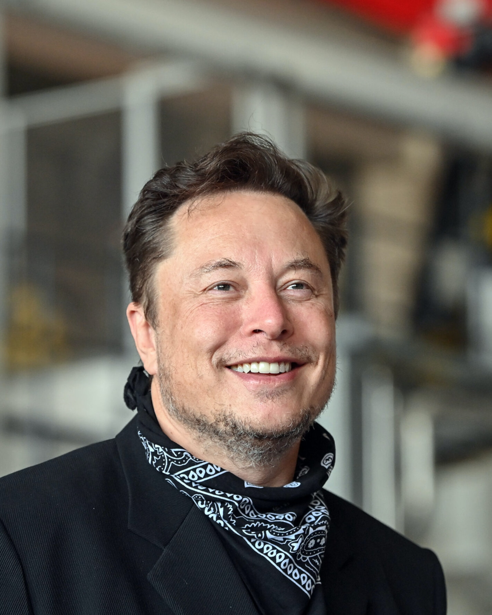 13 August 2021, Brandenburg, Grünheide: Elon Musk, Tesla CEO, stands in the foundry of the Tesla Gigafactory during a press event. The first vehicles are scheduled to roll off the production line in Grünheide near Berlin from the end of 2021. The US company plans to build around 500,000 units of the compact Model 3 and Model Y series here each year. Photo: Patrick Pleul/dpa-Zentralbild/ZB (Photo by Patrick Pleul/picture alliance via Getty Images)