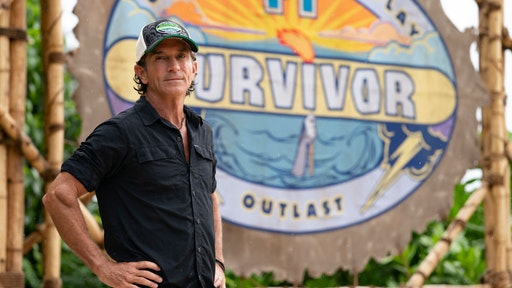 MANA ISLAND - APRIL 12: Executive Producer Jeff Probst returns to host SURVIVOR, when the Emmy Award-winning series returns for its 41st season, with a special 2-hour premiere, Wednesday, Sept. 22 (8:00-10 PM, ET/PT) on the CBS Television Network. (Photo by Robert Voets/CBS via Getty Images)