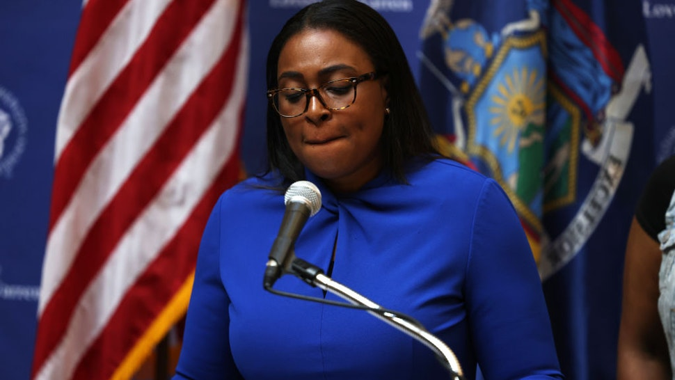 Lovely A. Warren, mayor of Rochester, speaks during a press conference on the death of Daniel Prude on September 03, 2020 in Rochester, New York.