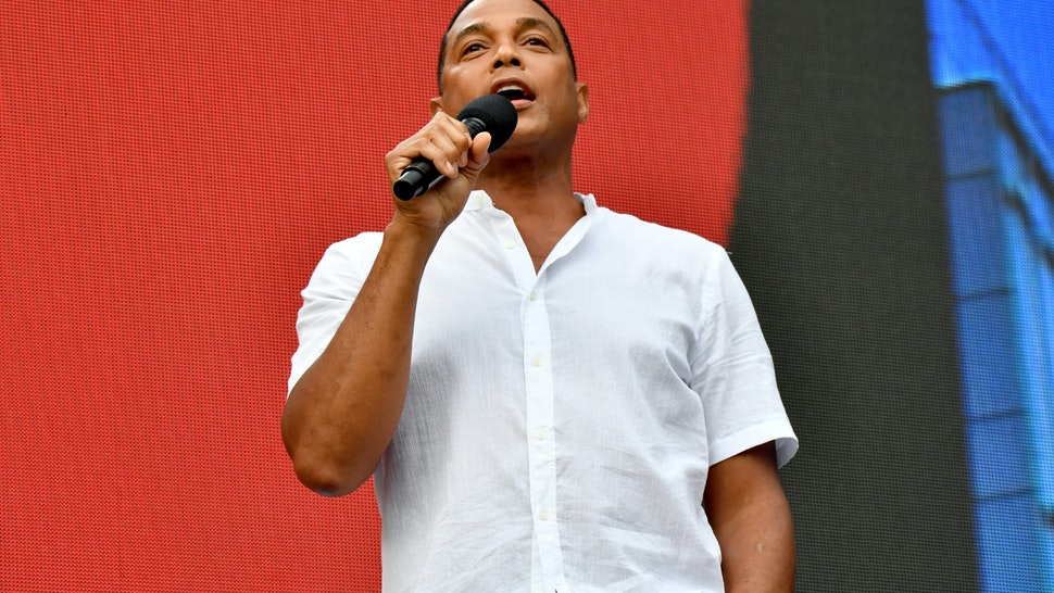 NEW YORK, NEW YORK - AUGUST 21: Don Lemon speaks onstage during We Love NYC: The Homecoming Concert Produced by NYC, Clive Davis, and Live Nation on August 21, 2021 in New York City. (Photo by Jeff Kravitz/Getty Images for Live Nation)