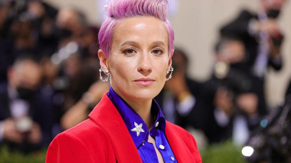 Megan Rapinoe attends The 2021 Met Gala Celebrating In America: A Lexicon Of Fashion at Metropolitan Museum of Art on September 13, 2021 in New York City.
