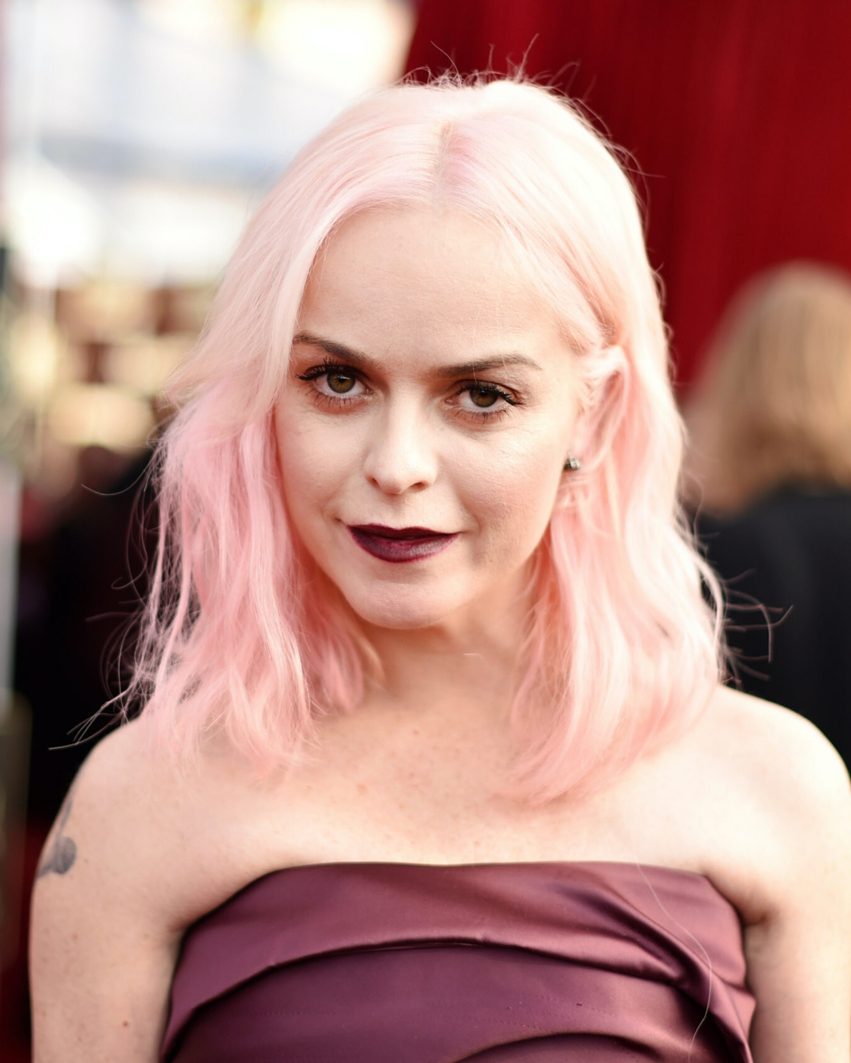 LOS ANGELES, CA - JANUARY 29: Actor Taryn Manning attends The 23rd Annual Screen Actors Guild Awards at The Shrine Auditorium on January 29, 2017 in Los Angeles, California. (Photo by John Shearer/Getty Images for People Magazine)