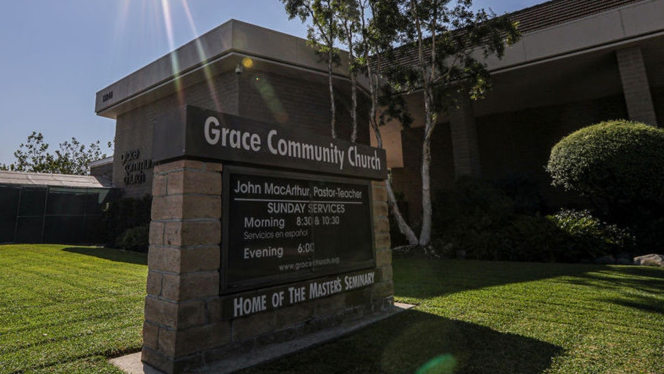 SUN VALLEY, CA - SEPTEMBER 04: Grace Community Church Grace Community Church on Friday, Sept. 4, 2020 in Sun Valley, CA.