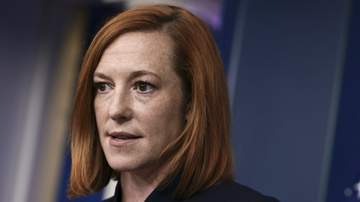 WASHINGTON, DC - SEPTEMBER 24: White House Press Secretary Jen Psaki speaks at a press briefing in the White House on September 24, 2021 in Washington, DC. Psaki spoke on a range of topics including the Covid-19 vaccines and the U.S and Mexico border.