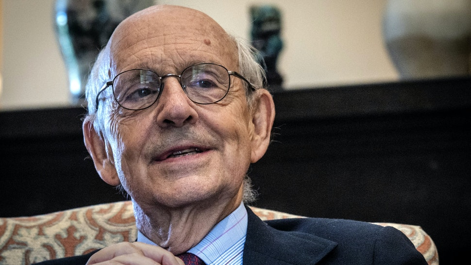 WASHINGTON, DC - AUGUST 27: Supreme Court Justice Stephen Breyer during our interview in his office , in Washington, DC.