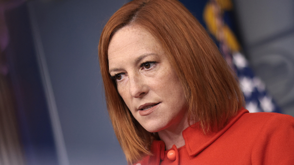WASHINGTON, DC - SEPTEMBER 15: White House press secretary Jen Psaki answers questions in the White House press briefing room on September 15, 2021 in Washington, DC. Psaki answered a range of questions during the briefing.
