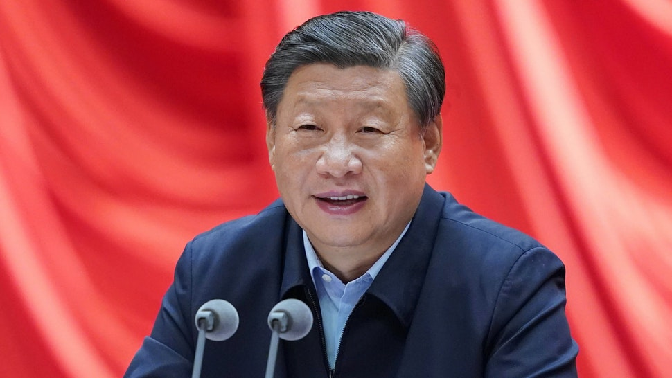 Chinese President Xi Jinping, also general secretary of the Communist Party of China CPC Central Committee and chairman of the Central Military Commission, addresses the opening of a training session for young and middle-aged officials at the Party School of the CPC Central Committee National Academy of Governance, Sept. 1, 2021.