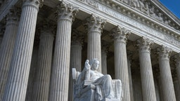 The U.S. Supreme Court Building in Washington, D.C., is the seat of the Supreme Court of the United States and the Judicial Branch of government.