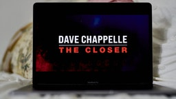 The Netflix Inc. stand-up comedy special 'Dave Chappelle: The Closer' on a laptop computer arranged in the Brooklyn Borough of New York, U.S., on Saturday, Oct. 16, 2021.