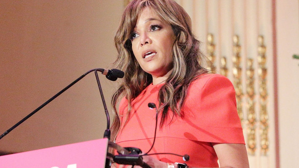NEW YORK, NY - DECEMBER 12: Sunny Hostin speaks during the Help USA Scholarship Awards luncheon at The Plaza on December 12, 2019 in New York City. (Photo by Lars Niki/Getty Images for Help USA)