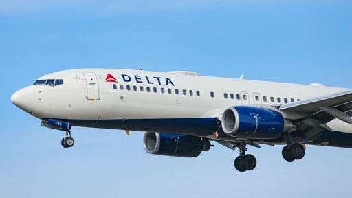 Delta Air Lines Boeing 737-800 commercial aircraft as seen on final approach landing at New York JFK John F Kennedy International airport in NY, USA on February 13, 2020.