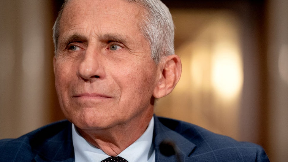 Dr. Anthony Fauci, Director of the National Institute of Allergy and Infectious Diseases, arrives to testify before the Senate Health, Education, Labor, and Pensions Committee at the Dirksen Senate Office Building on July 20, 2021 in Washington, DC.