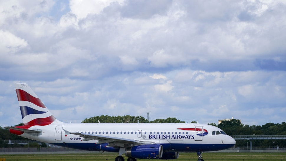 A British Airways Airbus A319-131 aircraft taxis at Heathrow Airport, London. Picture date: Friday August 6, 2021.