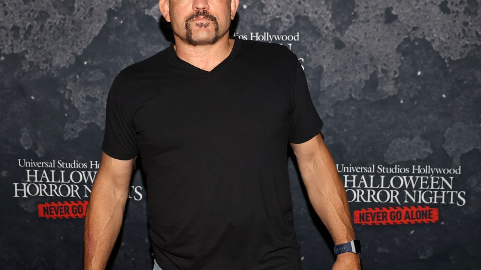 """Chuck Liddell attends the """"Halloween Horror Nights"""" Opening Night at Universal Studios Hollywood on September 09, 2021 in Universal City, California."""