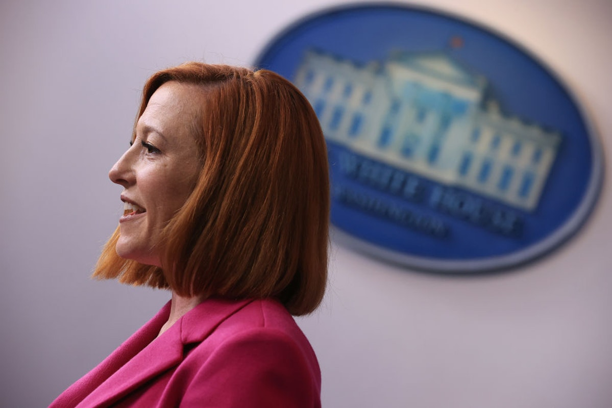 Psaki Uses Kamala Harris Tactic To Defend Biden Not Visiting The Border | The Daily Wire