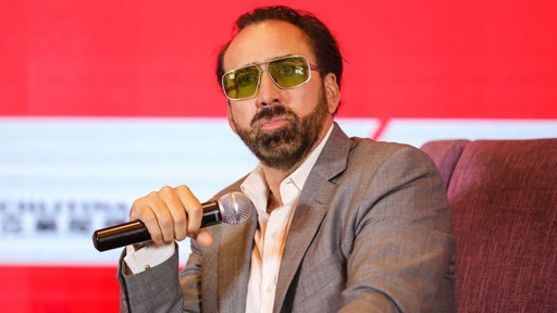 American actor Nicolas Cage attends the press conference for actors on the red carpet of the opening ceremony during the 21st Shanghai International Film Festival on June 16, 2018 in Shanghai, China.