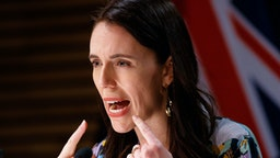 WELLINGTON, NEW ZEALAND - SEPTEMBER 20: Prime Minister Jacinda Ardern speaks during the post cabinet press conference on September 20, 2021 in Wellington, New Zealand. Auckland will move to COVID-19 Alert Level 3 restrictions from midnight on Tuesday, with Level 3 settings to remain in place for at least two weeks. Areas in the Waikato region just outside of Auckland will be subject to temporary restrictions following the emergence of new community COVID-19 cases at the weekend. The rest of New Zealand remains at Alert Level 2.