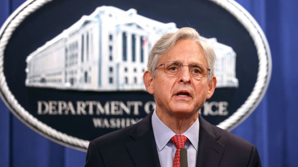 WASHINGTON, DC - AUGUST 05: U.S. Attorney General Merrick Garland announces a federal investigation of the City of Phoenix and the Phoenix Police Department during a news conference at the Department of Justice on August 05, 2021 in Washington, DC. Garland said the Justice Department has opened a pattern or practice investigation into the City of Phoenix and the Phoenix Police Department to determine if they have violated federal laws or citizens constitutional rights.